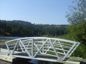 Florence Lake Strachan Trail pier