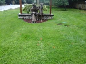 firestation goldstream statue