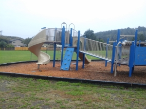 Willway ESGS blue playground