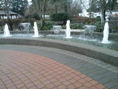 VM Park fountain