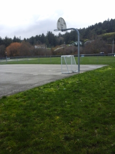 At Park ball areas